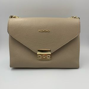Authentic Valentino shoulder bag light gray